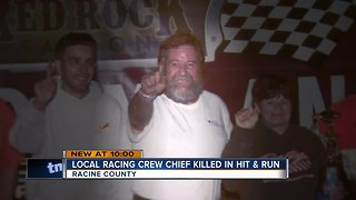 Racine County hit-and-run mystery leaves local racing crew chief dead