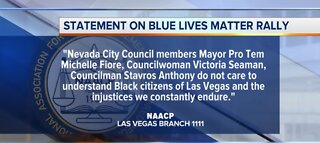 NAACP condemns Blue Lives Matter rally