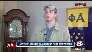 Secure Indiana License Plates Helping Future First Responders - Video