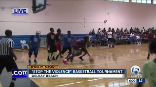 'Stop the violence' basketball tournament held in Delray Beach - Video