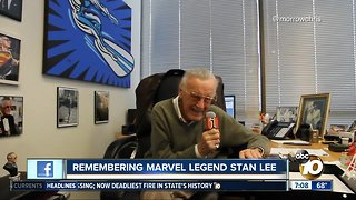 Stan Lee remembered by San Diego