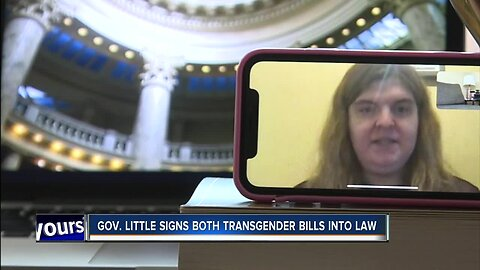 Inside the Statehouse: Governor Brad little signs into law two bills targeting transgender Idahoans
