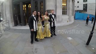 Strictly Come Dancing judges and dancers arrive for show launch - Video