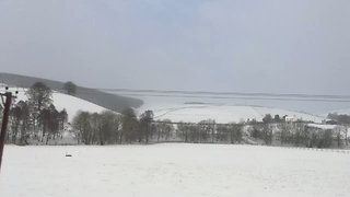 Snowfall Transforms Scottish Borders Into Scenic Winter Wonderland - Video