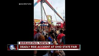 1 killed, 7 injured at Ohio State Fair - Video