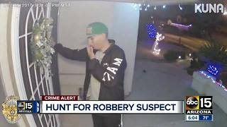 Peoria police searching for robbery suspect