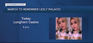 March to remember Lesly Palacio