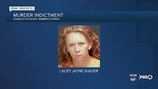 Charlotte County woman first to be indicted for murder in connection with drug deal