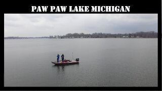 Paw Paw Lake Michigan Bass Fishing