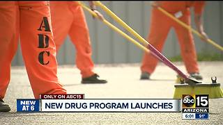 'Miracle drug' aims to fight opioid addiction in Arizona prisons - Video