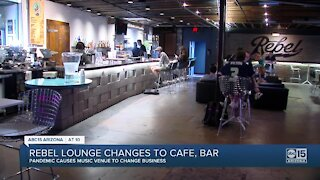 The Rebel Lounge opens as coffee bar as pandemic hits live music industry hard