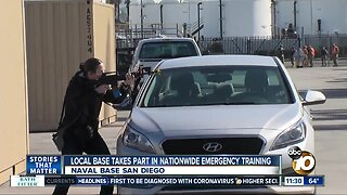 Naval Base San Diego takes part in nationwide training