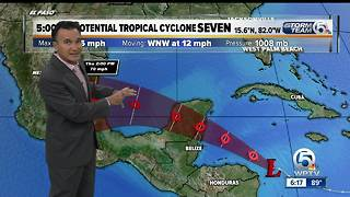 Sunday evening Tropical update - Video