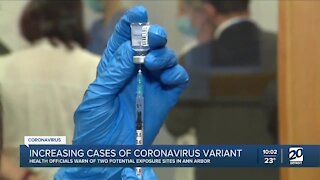Increasing cases of new COVID-19 variant in Michigan
