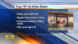 9 things to know about Toys R Us' liquidation sale - Video