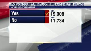Jackson Co. voters approve animal control officers return - Video