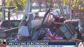 Drop off old gadgets at OP recycling event - Video