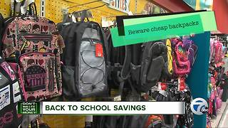 Save big on back-to-school items with these shopping secrets - Video
