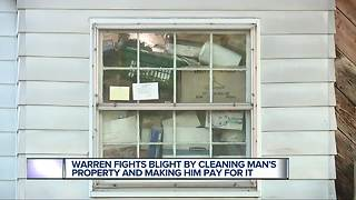 Judge orders cleanup of Warren home cited for excessive blight