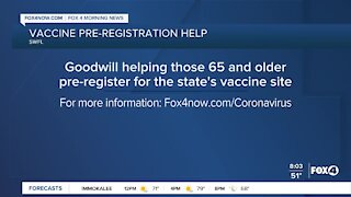 Goodwill to help with vaccine registration