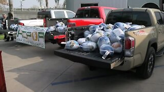 KCPOA donates turkeys to The Mission at Kern County