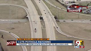 Patching potholes - Video