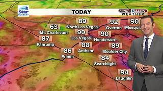 13 First Alert Las Vegas weather May 18 morning - Video