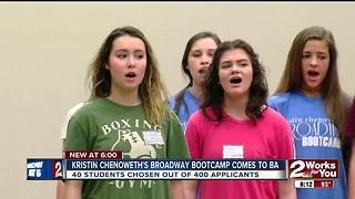 Broadway Bootcamp comes to Broken Arrow - Video