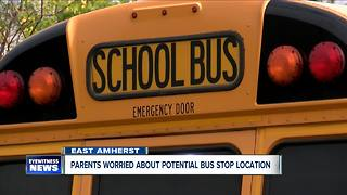 Possible bus stop along Transit Road has parents worried - Video