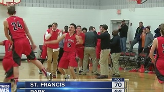 St. Francis edges Park 70-66 in two overtimes, Cardinal O'Hara girls beat Bishop Kearney - Video