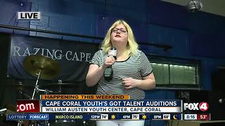 Cape Coral Youth's Got Talent holds auditions - 8am live report - Video
