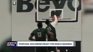 Spartans and Wolverines ready for March Madness