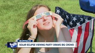 WNY Viewing Party for Solar Eclipse - Video