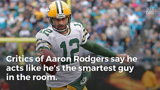 Packers QB Aaron Rodgers Is Now a Doctor - Video