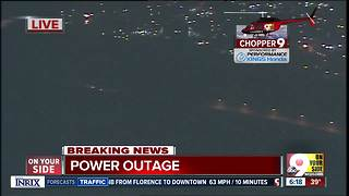 Chopper 9: Power outage puts Walnut Hills, Mt. Adams in the dark - Video
