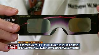 Protecting your eyes during the solar eclipse - Video