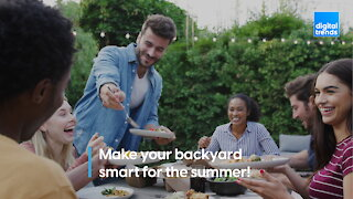 Want a smart backyard? Here are some items to get you started