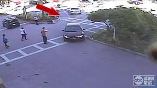 Air Force vet attacked in Publix parking lot - Video
