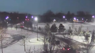 Meteor Lights Up Sky Over Troy, Michigan