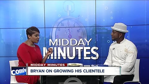 Midday Minutes: Chef Darian Bryan shares more about his rise and breakout in the kitchen