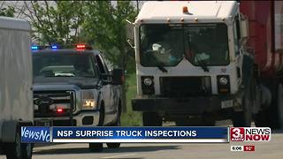 NSP discover 913 violations in 3 days of surprise truck inspections - Video