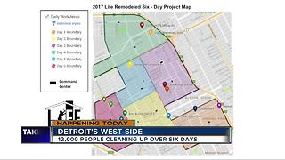 Life Remodeled working to clean up Detroit over six days - Video