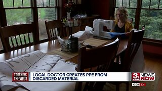 Local Doctor Creates PPE From Discarded Material
