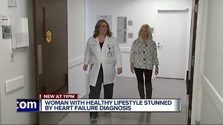 Woman overcomes unexpected heart condition with a transplant