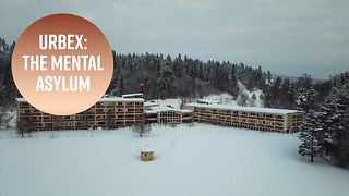 Urban Exploration: Inside a condemned asylum in Sweden - Video
