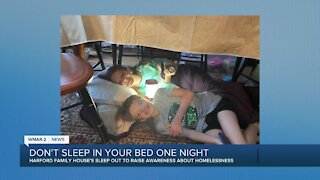 Don't sleep in your bed one night
