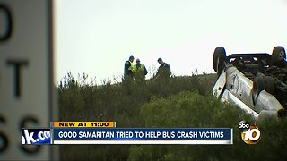 Good Samaritan tried to help Pala Mesa bus crash victims
