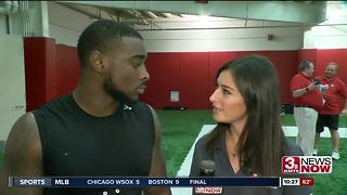 1-on-1 With De'Mornay Pierson-El - Video