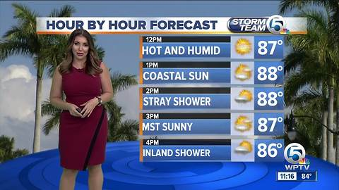 South Florida Tuesday afternoon forecast (6/19/18)