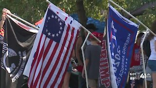 KC Trump car parade attracts thousands